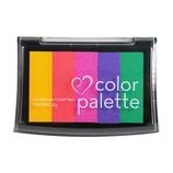 ツキネコ カラーパレット5色 CP502 トロピカル