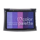 ツキネコ カラーパレット5色 CP506 パープルS