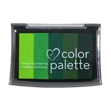 ツキネコ カラーパレット5色 CP508 グリーンS