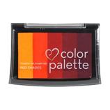 ツキネコ カラーパレット5色 CP509 レッドS