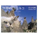 【2021年版・壁掛】辰巳出版 世界の自由ネコ カレンダー 6087