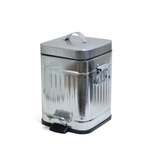 ガルバ スクエアダストボックス 3L シルバー│ゴミ箱 ごみ箱