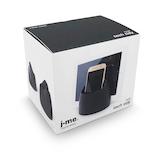 J-me ハブタブレットホルダー ブラック│収納・クローゼット用品 携帯・スマホスタンド