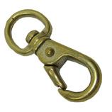 真鍮製ナスカン 丸頭12mm│チェーン・金具 ナスカン・スイベル