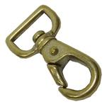 真鍮製ナスカン 角頭21mm
