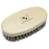 DONOK セレクテッド ホースヘアブラシ シルバー│靴磨き・シューケア用品 靴ブラシ
