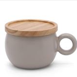 poto Oマグ ライトグレー│食器・カトラリー マグカップ・コーヒーカップ