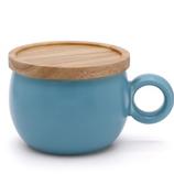 poto Oマグ ブルー│食器・カトラリー マグカップ・コーヒーカップ