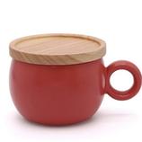 poto Oマグ レッド│食器・カトラリー マグカップ・コーヒーカップ