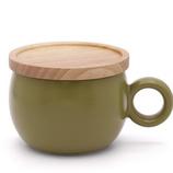 poto Oマグ グリーン│食器・カトラリー マグカップ・コーヒーカップ