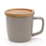 poto Dマグ ライトグレー│食器・カトラリー マグカップ・コーヒーカップ