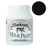 ターナー ミルクペイント200ml インクブラック│水性塗料 多用途水性塗料
