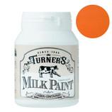 ターナー ミルクペイント200ml サンフラワーオレンジ│水性塗料 多用途水性塗料