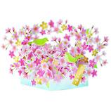 アートプリントジャパン 桜ポップアップカード 1000114567 うぐいす