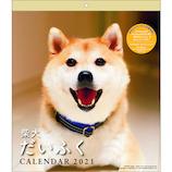 【2021年版・壁掛】 アートプリントジャパン 柴犬だいふくカレンダー