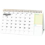 【2021年版・卓上】 アートプリントジャパン ふせん付スケジュールカレンダー B
