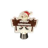 【クリスマス】アートプリントジャパン フリッカ-ライト/サインボ-ドサンタ 1000116537│クリスマスグッズ クリスマスデコレーション