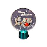 【クリスマス】アートプリントジャパン フリッカ-ライト/サンタスレイ 1000116544│クリスマスグッズ クリスマスデコレーション