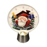 【クリスマス】アートプリントジャパン フリッカ-ライト/サンタウイズベル 1000116545│クリスマスグッズ クリスマスデコレーション