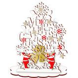 【クリスマス】アートプリントジャパン クリスマスウッドスタンドカード 117888 クリスマスベル