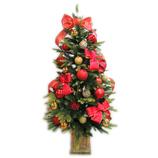 【クリスマス】アートプリントジャパン クラシカルセットツリー 120cm│クリスマスグッズ クリスマスツリーセット
