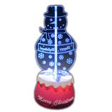 【クリスマス】アートプリントジャパン 3Dフリッカー スノーマン│クリスマスグッズ クリスマスデコレーション