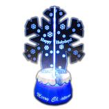 【クリスマス】アートプリントジャパン 3Dフリッカー スノーフレーク│クリスマスグッズ クリスマスデコレーション