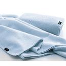 ミクロピュア 吸水バスタオル ブルー