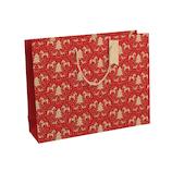 【クリスマス】 クレールフォンテーヌ クリスマスバッグ Rouge L X-28233-6