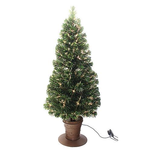 【クリスマス】 東急ハンズオリジナル LEDファイバーツリー 高さ180cm