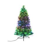 【クリスマス】エリート LEDオーロラファイバー 松枝 AF−PG120  高さ120cm