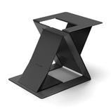 モフト(MOFT) Z スタンディングデスク&スタンド ブラック│オフィス用品 その他 OA用品