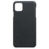 【iPhone11】 PITAKA MAGケース KI1101R グレー/ブラック