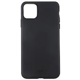【iPhone11ProMax】 ホールディット(Holdit) ソフトタッチシリコーンケース ブラック