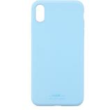 【iPhoneXR】ホールディット(Holdit) ソフトタッチシリコーン 14712 ライトブルー