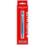 カランダッシュ 849ブリスター ボールペン 0.8mm メタリックターコイズ