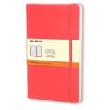 モレスキン 限定版カラーノートブック ハードカバー 横罫 ポケットサイズ 892635 ゼラニウムレッド