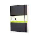 モレスキン クラシックノートブック ハードカバー 無地 XL 892710 ブラック│ノート・メモ 大学ノート・綴じノート