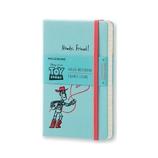 モレスキン 限定版 トイ・ストーリー ノートブック 横 Pocket 893120 ライトブルー
