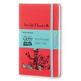 モレスキン 限定版 トイ・ストーリー ノートブック 横 L 893144 ゼラニウムレッド