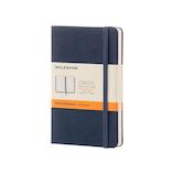 モレスキン カラーハード ポケット 横罫 サファイアブルー 893564