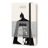 モレスキン 限定版 バットマン ノートブック ハードカバー 横罫 ポケット ホワイト 400911