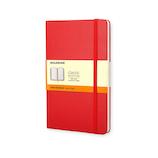 モレスキン クラシックノートブック ハードカバー 横罫 ポケットサイズ 404353 レッド