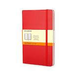 モレスキン クラシックノートブック ハードカバー 横罫 ラージサイズ 404360 レッド│ノート・メモ 大学ノート・綴じノート