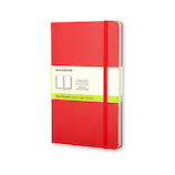 モレスキン クラシックノートブック ハードカバー 無地 ラージサイズ 404384 レッド