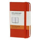 モレスキン カラーノートブック ハードカバー 横罫 XS 404735 レッド