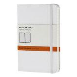 モレスキン カラーノートブック ハードカバー 横罫 ポケットサイズ 404773 ホワイト