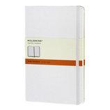 モレスキン カラーノートブック ハードカバー 横罫 ラージ 404780 ホワイト