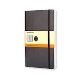 モレスキン クラシックノートブック ソフトカバー 横罫 ラージサイズ 404841 ブラック