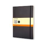 モレスキン クラシックノートブック ソフトカバー 横罫 XL 404858 ブラック│ノート・メモ 大学ノート・綴じノート